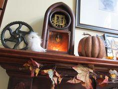 Halloween Home Decor Inspiration!  AQuirkyCreative.com