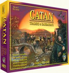 Catan – 2 Player Expansion. Because I have no friends.