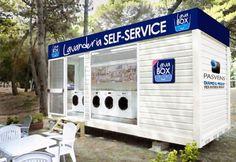 Container SA: Lavanderia Container: Express, Móvel e Modular