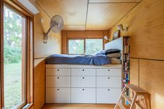 12 Ideas shipping container house interior design for 41 x Shipping Containers Turn Into Amazing Compact Home . Tiny House Shipping Container, Container House Plans, Container House Design, Shipping Containers, Cargo Container, Container Houses, Container Store, Plywood Interior, Home By
