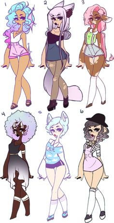 Mystery Adopts by jawlatte