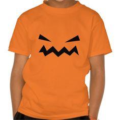 Scary Pumpkin Kids T-Shirt