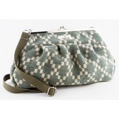 The Muhku bag is made of thick wool felt blankets by Globe Hope.
