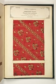 The Textile Manufactures of India, compiled by John Forbes Watson