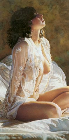 Steve Hanks (1949-2015) Great American figurative watercolor artist