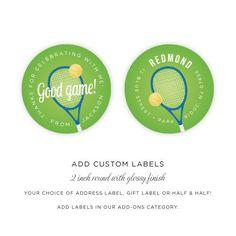 Tennis Birthday Invitation Tennis Anyone 15 by brightsideprints, $28.35