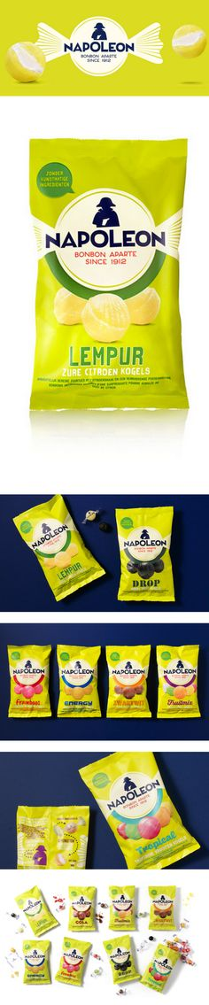 NAPOLEON snack packaging
