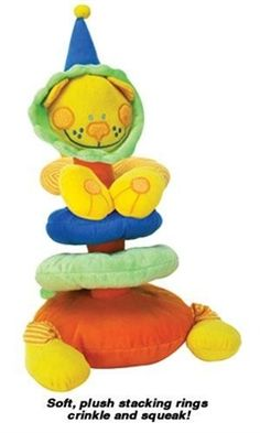 Stack N Play Lion Dog Toy 14.99