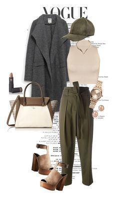 A fashion look from March 2016 featuring sleeveless tops, woolen coat and high-waisted pants. Browse and shop related looks. Lipstick Queen, 3.1 Phillip Lim, Vince Camuto, Rebecca Minkoff, Zara, Fashion Looks, Chic, Spring, Winter