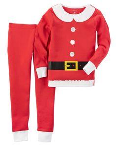 52c5e76d63d Toddler Girl 2-Piece Snug Fit Cotton Christmas PJs
