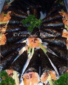 Salmon Temakisushi by Crea Sushi Workshops