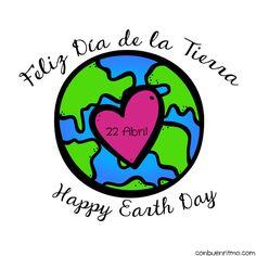 Recursos, ideas, enlaces para trabajar el Día de la Tierra // Earth Day resources, ideas, links World Environment Day, Happy Earth, Science Art, 5th Grades, Earth Day, Teaching Resources, Preschool, Pta, Language Arts
