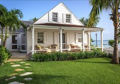 Bahama Beach Cottage decorated by Laura Hay DecorandDesign.com - The Daily Basics