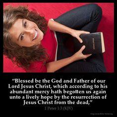 1 Peter 1:3 KJB