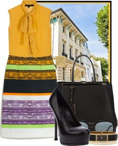 """""""Summer in Paris"""" by ssquared on Polyvore"""