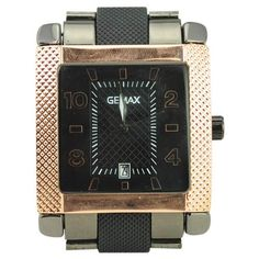 WRIST WATCH OF MEN MALE-ROSE DISPLAY QUARTZ GEMAX6208 WATERPROOF $32.00  $28.80 IN STOCK Take it easy,you are holding a valued artwork,stylish square dial design make you different in  the party,quartz movement stand for good quality of this item,morever,date display and waterproof is so convenient that you can see the time when you are washing your hands,go and get it.