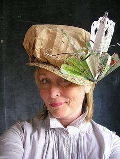 495de5be383 paper hats by Alyn Carlson