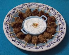 Mini Kafta com Maionese de Alho (sem ovos) - Na Biroskinha