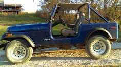 a beauty this 1976 jeep