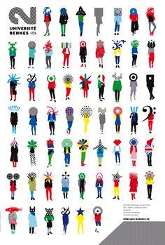 2012 : Universite rennes 2 par le jardin graphique