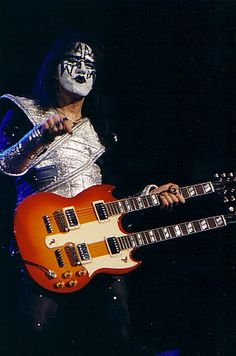 Ace Frehley- Double neck