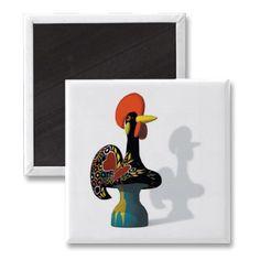 Barcelos Rooster Magnet