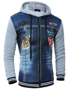 QINGYU Hoodie Zipper Cardigan Tide 3D Tiger Printing Hoodies Men Sweatshirt Off White Hoody Mens Purpose Tour
