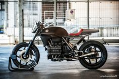 "BMW K75 Cafe Racer ""Tuatara"" by Moto Sumisura - Photo by Fabrizio Jelmini #motorcycles #caferacer #motos 