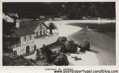 Setubal : Arrabida Portugal, Lisbon, Vintage Photos, Poster, Mountain, Beach, Littoral Zone, Old Pictures, Black