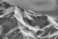 Fagaras mountains by Comsa Bogdan on YouPic Mount Everest, Mountains, Black And White, Winter, Nature, Travel, Winter Time, Naturaleza, Viajes