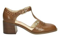 Womens Smart Shoes - Orla Bibi in Tan Leather from Clarks shoes