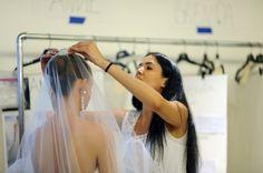 Oscar de la Renta Bridal 2013 - Photo by @MeaganCignoli