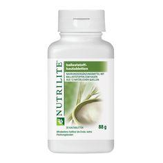 Bestellnummer: 104283 NUTRILITE Ballaststoff-Kautabletten enthalten Ballaststoffe aus 13 verschiedenen Quellen.