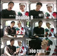 SHIP!!!!! Is that what we're calling it? Double B... cute xD