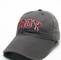 Troy University Legacy Fitted Washed Twill Hat