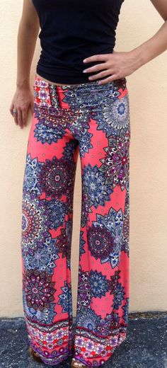 Cheap pants trousers, Buy Quality pants wide leg directly from China wide leg pants Suppliers: AQ Exuma Palazzo pants Female Flare Boho Summer Elastic High Waist Pants Wide Leg Pants Trouser How To Have Style, Style Me, Flat Style, Bohemian Style, Boho Fashion, Fashion Outfits, Womens Fashion, Fashion Clothes, Style Fashion