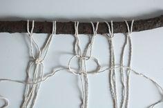 DIY Makramee Wandteppich | we love handmade