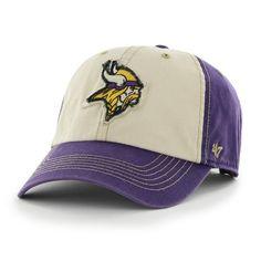 Minnesota Vikings Tuscaloosa Clean Up Yosemite Purple 47 Brand Adjustable Hat