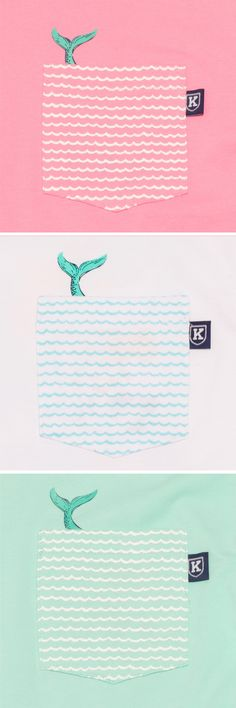 The Mermaid Hidden Pocket Tee™ by Krass & Co.