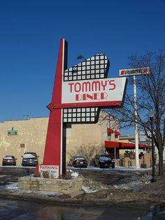 Tommy's Diner.Columbus, Ohio.