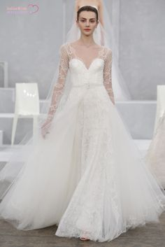 Monique Lhuillier 2015 Spring Bridal Collection