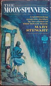 The Moon-Spinners - Mary Stewart; I could close my eyes and be in Greece.  I could hear the cicadas.