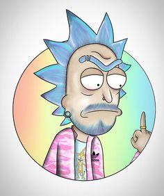 Rick and Morty x Adidas