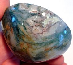 3 Gemstone BOWL KARMIC SOUL Cleansing  Moss by TranquilityCrystals
