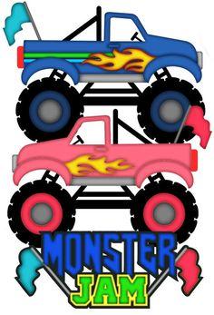 21003+ Free Svg File Monster Truck File