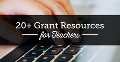Apply for one (or more!) of teacher grants to earn some extra funds for all your education aspirations. Start out the school year with a little bit of extra cash (or hopefully a lot) to spend on new projects or classroom needs that... #grantresourcesforteachers #grantsforteachers #summerofliteracy