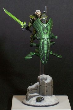 Eldar Corsair on Jetbike