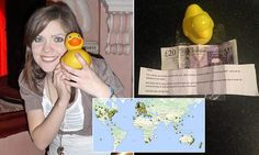 GREAT STORY; Thousands of rubber ducks sent around the world in charity campaign