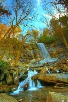 Rainbow Falls - Smoky mountain National park
