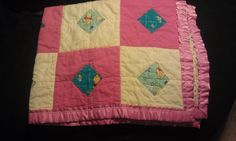 Front of Quilt #4 for a baby girl